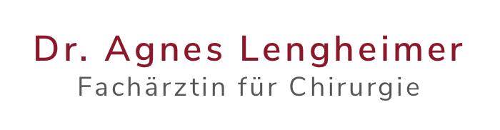 Dr. Agnes Lengheimer